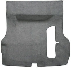 55-57 Chevy Carpet Trunk Floor Carpeted Mat - With Spare Tire Cut Out - Acc