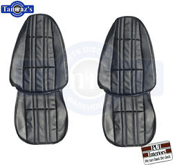 1975-1976 Nova Front And Rear Seat Covers Upholstery Pui New