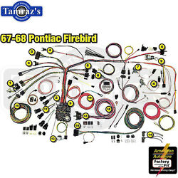 67-68 Firebird Classic Update Series Complete Body And Interior Wiring Harness Kit