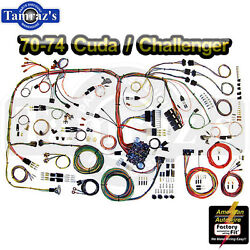 70-74 E-body Classic Update Series Complete Body And Interior Wiring Harness Kit