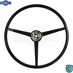 65-66 Ford Mustang Correct 15 Reproduction O.e. Style Steering Wheel - Black