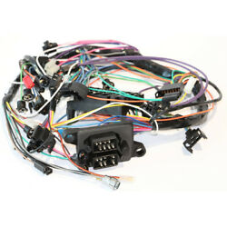67 Gto Dash Wiring Harness Column Shift Automatic Trans And All Manual W/o Gauges
