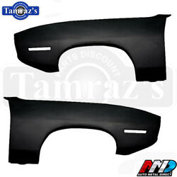 1970 Plymouth Barracuda Cuda Front Fenders - Amd Tooling - Pair Lh And Rh Side