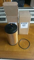 2 Hastings Lf555 Premium Oil Filters With O-ring Made In Usa Nib