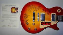 Signed G.b.h. Autographed Guitar Gbh Certified Authentic Jsa Loa Bb28370