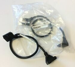 Lot Of 2 Automation Direct Zl-d0-cbl24 Ziplink Plc I/o Cables 24-pin, 1.6 Feet