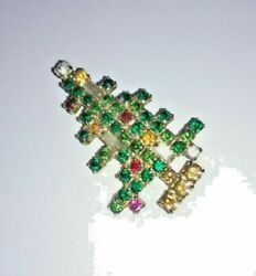 Antique Weiss Christmas Tree Brooch