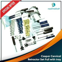 New Pro Caspar Cervical Retractor Set/ Interior Cervical Retractor Set Neuro