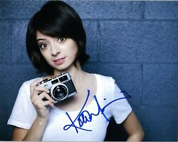 Kate Micucci Authentic Hand-signed Super Cute 8x10 Photo