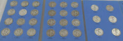 1937-1947 Walking Liberty Silver Half Dollars Complete Set Of 30- Coins