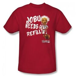 Jobu Needs A Refill T-Shirt Major League Movie Baseball Pedro Cerrano