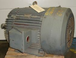 Reliance Electric Duty Master Ac Electric Motor 125 Hp 11890lr