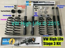 Lift Kit For Vw New Beetle 1998-2010 Vw High Life Stage 3 Suspension Mk4