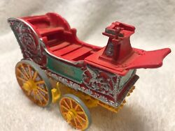 🎪vintage 🎪twin Lions Tableau Circus Wagon Ertl 1997 Porcelain Toy Collectible