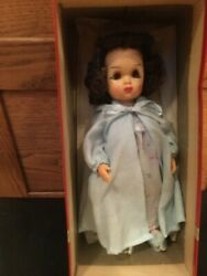 Doll Tiny Terri Lee Brunette In Nightgown And Robe In Box 1950s
