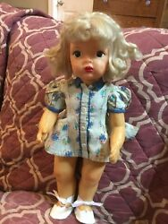 Doll Terri Lee Patent Pending Tagged Town Dress 1950and039s