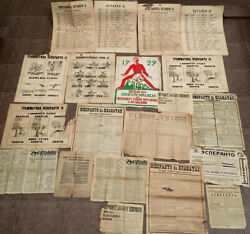 1920and039s Lot Of 20 Esperanto Posters Newspapers/ Magazines Ussr Russian Эсперанто
