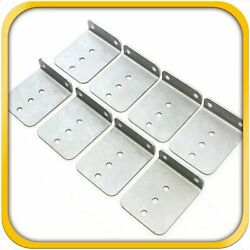 8 6 X 5 Hot Dipped Galvanized L Type Boat Trailer New Bunk Board Brackets New
