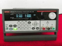 Keithley 2200-60-2 60v 2.5a Programmable Dc Power Supply Warranty