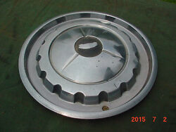 1957 55 56 57 Chevrolet Hubcap Wheel Cover Chevy Bel Air Street Rat Rod Nomad