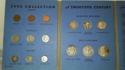 Type Collection Of 20th Century United States Coins 1950 Year Set 1909 Vdb