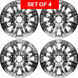 New Four 20 Replacement Alloy Silver Wheel Rim Fits Ford Expedition 2010-2014