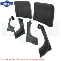 1967 Gm A Body Front Bucket Seat Bottom And Back Panel Set - 6 Pieces New