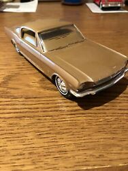1966 Ford Mustang Fastback Gt Antique Flat Bronze Philco Radio - Am