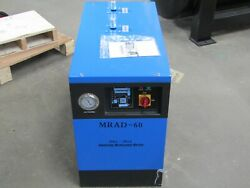 Dry- Max Mrad-60 Refrigerated Air Dryer 60 Cfm Pre/after Coalescing Filter