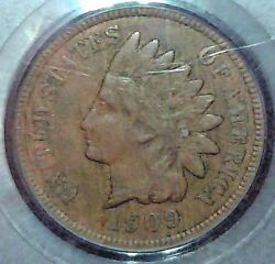 1909s Indian Cent Pcgs Vf25