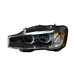 New Left Side Headlight Lens And Housing Fits 2015-2017 Bmw X3 Bm2518144