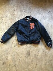 Vintage SF Giants Starter Jacket Youth Large (fits like women SM)great condition $68.00