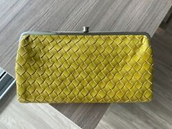 HOBO wallet clutch intrecciato leather $99.00