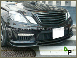 B Style Carbon Fiber Front Lip For 11-13 M-benz W212 E63amg Sedan/wagon Only