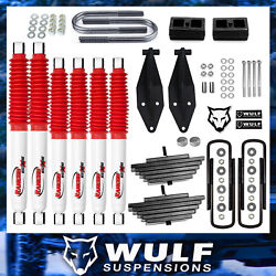 3 Front 2 Rear Lift Kit W Rancho Shocks For 1999-2004 Ford F250 Super Duty 4x4