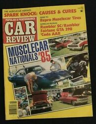 Popular And Performance Car Review Magazine October 1985 Muscle Car Nats 85 Hemi