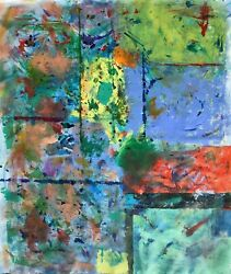 Large Format Painting Modern Art Abstract Expressionism 72andrdquo X 60andrdquo Stilgenbauer