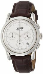 Tissot Watch Heritage 1948 Silver Color Dial Leather T66171233 Men