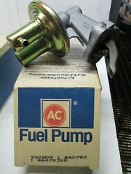 Ac Delco 40782  Mechanical Fuel Pump  See Applications In Photo