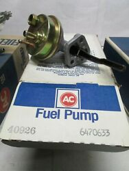 Ac Delco 40926 / Carter 4642  Mechanical Fuel Pump See Applications In Photo