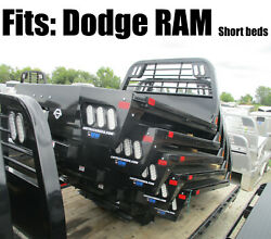 Cm 7and039 Ss Flat Bed Rd Replacement Body Fits Dodge Ram Short Bed Truck 1510344