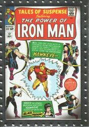 2010 Upper Deck Iron Man 2 Classic Covers Card Cc3 Tales Of Suspense 57