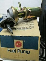 Ac Delco 41034   Mechanical Fuel Pump    See Applications In Photo