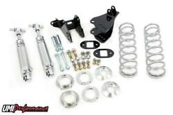 Umi 78-88 Monte Carlo Rear Coilover Kit, Control Arm Relocation, Stock Height
