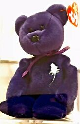 Princess Diana Beanie Baby - 1 St Edition 1997 In A Case. With Errors