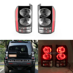 Left+right Tail Light Rear Lamp For Land Rover Discovery Lr3 Lr4 2004-2014 15 16