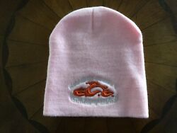 Orange County Choppers New Ladies Knit Winter Pink Beanie/hat