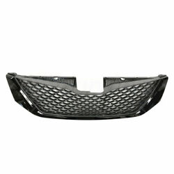 Front Bumper Upper Grille Assembly Honeycomb Black Fit Toyota Sienna To1200334
