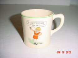 Little Orphan Annie And Sandy Ovaltine Mug Cup - The Wander Co. - Premium 1930's