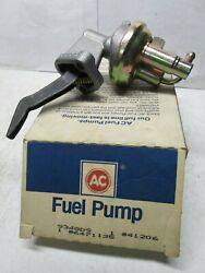 Ac Delco 41206  Mechanical Fuel Pump   See Applications In Photo